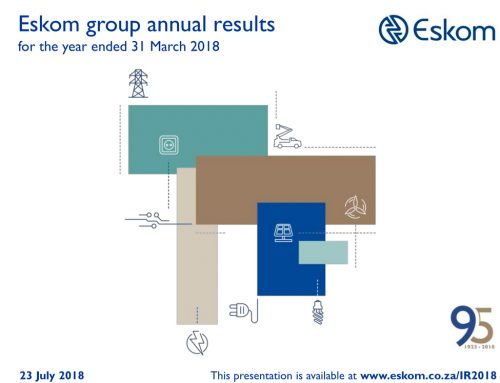 EIUG comments on Eskom's Financials